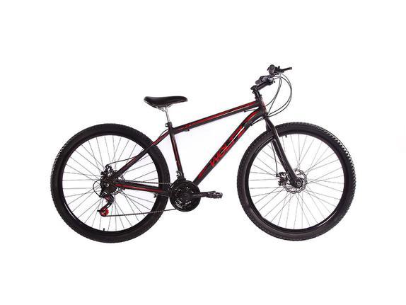 Bicicleta Woltz Expression Aro 29 Susp. Dianteira 21 Marchas - Preto/vermelho