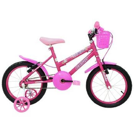 Bicicleta Cairu Fadinha Aro 16 Rígida 1 Marcha - Rosa