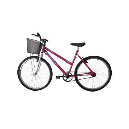 Bicicleta Athor Bike Slyn Aro 26 Rígida 1 Marcha - Rosa