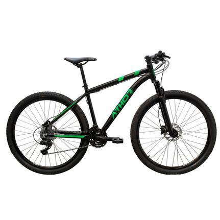 Bicicleta Athor Bike Atr Aro 29 Susp. Dianteira 24 Marchas - Preto/verde