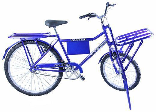 Bicicleta Dalannio Bike Carga Aro 26 Rígida 1 Marcha - Azul