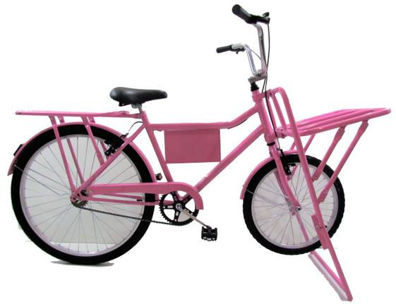 Bicicleta Dalannio Bike Carga Aro 29 Rígida 1 Marcha - Rosa