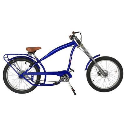 Bicicleta Nirve Chopper T24 Aro 26 Susp. Dianteira 1 Marcha - Prata