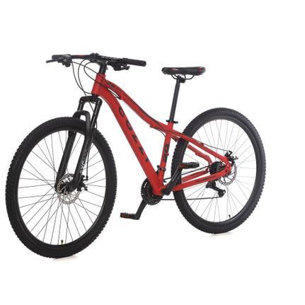 Bicicleta Colli Bike Abba Aro 29 Susp. Dianteira 21 Marchas - Vermelho