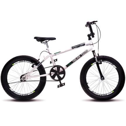Bicicleta Colli Bike Extreme Aro 20 Rígida 1 Marcha - Branco