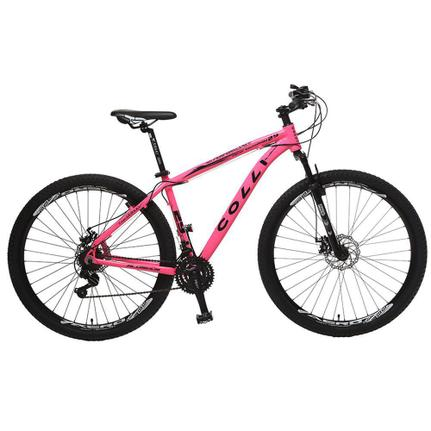 Bicicleta Colli Bike 531 Aro 29 Susp. Dianteira 21 Marchas - Rosa