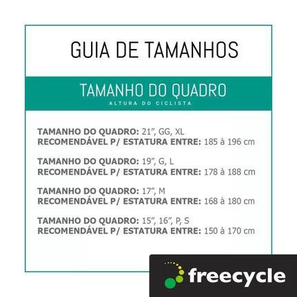 Bicicleta Tito Bike To Go Aro 26 Rígida 7 Marchas - Branco