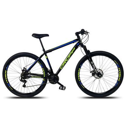 Bicicleta Dropp Sport T19 Aro 29 Susp. Dianteira 21 Marchas - Azul/preto