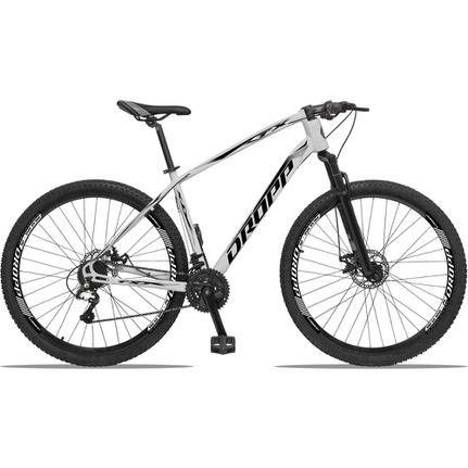 Bicicleta Dropp Tx 2020 Disc H T17 Aro 29 Susp. Dianteira 27 Marchas - Branco/preto