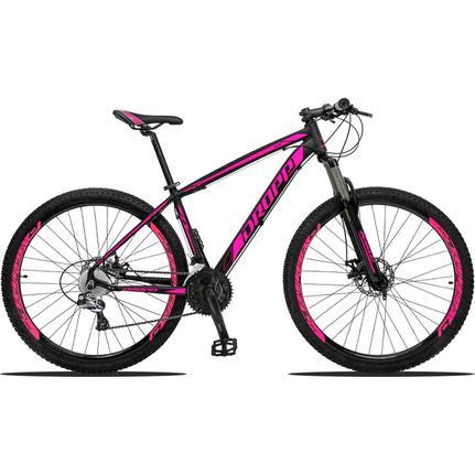 Bicicleta Dropp Z3 Disc H T19 Aro 29 Susp. Dianteira 27 Marchas - Preto/rosa