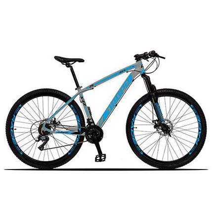 Bicicleta Dropp Z3x Disc H T17 Aro 29 Susp. Dianteira 21 Marchas - Azul/cinza