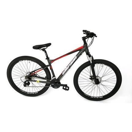 Bicicleta Elleven Gear Aro 29 Susp. Dianteira 21 Marchas - Preto/vermelho
