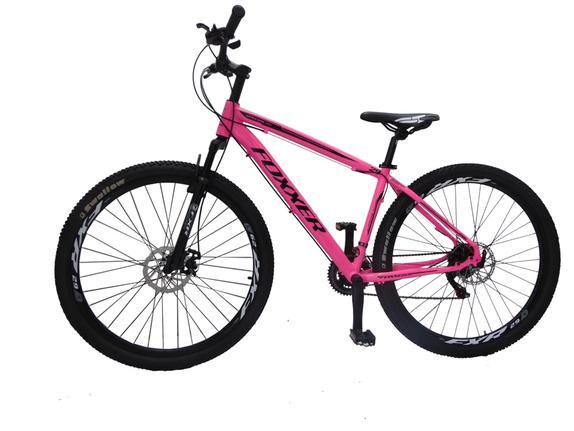 Bicicleta Foxxer Street Bike Pisa Aro 29 Susp. Dianteira 21 Marchas - Rosa