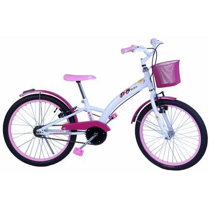 Bicicleta Dalannio Bike Fashion Aro 20 Rígida 1 Marcha - Branco