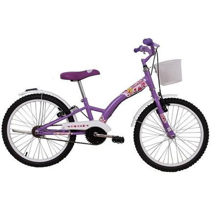 Bicicleta Dalannio Bike Fashion Aro 20 Rígida 1 Marcha - Lilás