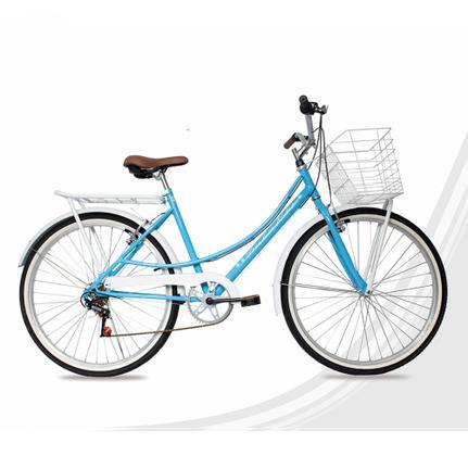 Bicicleta Freedom Bike Onix Aro 24 Rígida 18 Marchas - Azul