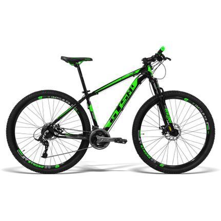 Bicicleta Gts M1 Movee T19 Aro 29 Susp. Dianteira 21 Marchas - Preto/verde