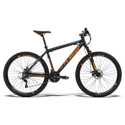 Bicicleta Gts M1 Ride New T17 Aro 29 Susp. Dianteira 24 Marchas - Laranja/preto