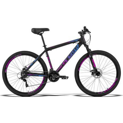 Bicicleta Gts M1 Ride New T19 Aro 29 Susp. Dianteira 24 Marchas - Preto/rosa