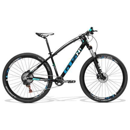 Bicicleta Gts M1 I-vtec T20 Aro 29 Susp. Dianteira 27 Marchas - Azul/preto