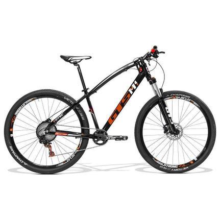 Bicicleta Gts M1 I-vtec T17 Aro 29 Susp. Dianteira 22 Marchas - Laranja/preto