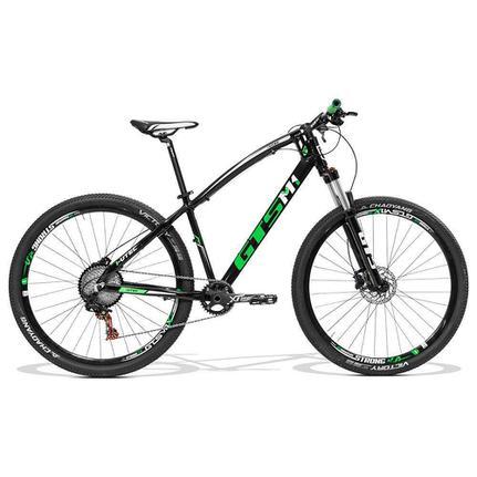 Bicicleta Gts M1 I-vtec T17 Aro 29 Susp. Dianteira 22 Marchas - Preto/verde