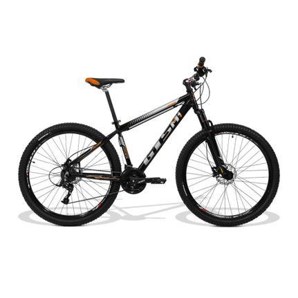 Bicicleta Gts M1 Movee T15 Aro 29 Susp. Dianteira 21 Marchas - Laranja/preto