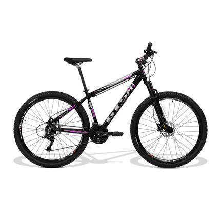Bicicleta Gts M1 Movee T15 Aro 29 Susp. Dianteira 21 Marchas - Preto/rosa