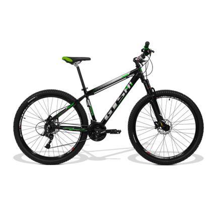 Bicicleta Gts M1 Movee T21 Aro 29 Susp. Dianteira 21 Marchas - Preto/verde
