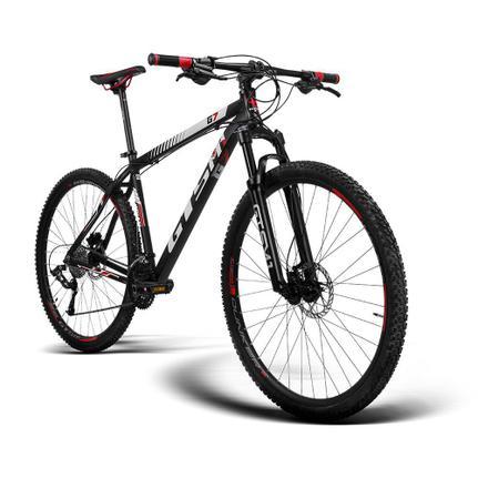 Bicicleta Gts M1 G7 T19 Aro 29 Susp. Dianteira 27 Marchas - Preto