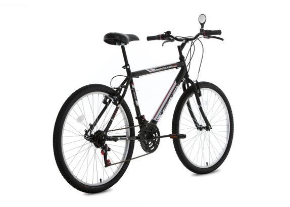 Bicicleta Houston Foxer Hammer Aro 26 Rígida 21 Marchas - Preto
