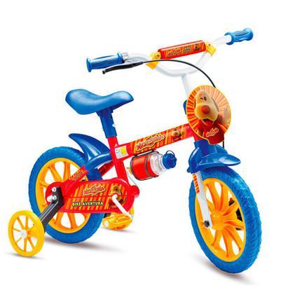 Bicicleta Colli Bike Xicória Aro 12 Rígida 1 Marcha - Azul/vermelho