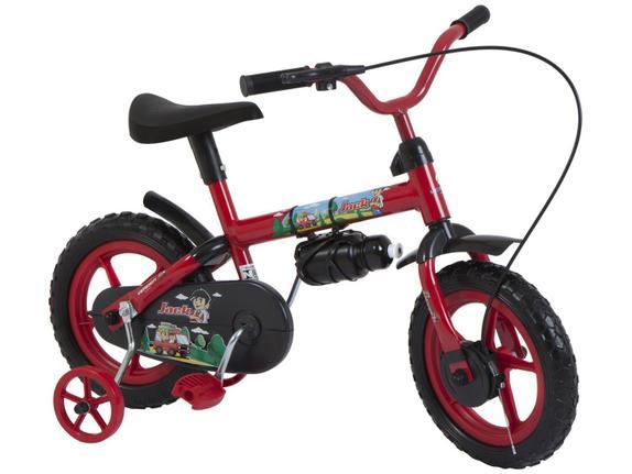 Bicicleta Verden Jack Aro 12 Rígida 1 Marcha - Vermelho