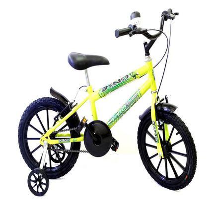 Bicicleta Ello Bike Dino Aro 16 Rígida 1 Marcha - Verde