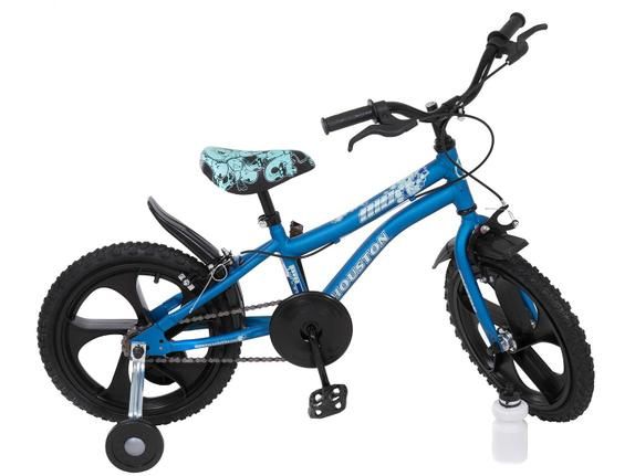 Bicicleta Houston Nic Aro 16 Rígida 1 Marcha - Azul
