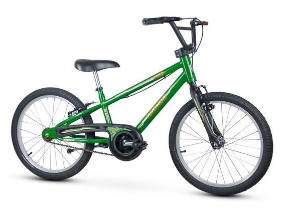 Bicicleta Nathor Army Aro 20 Rígida 1 Marcha - Verde