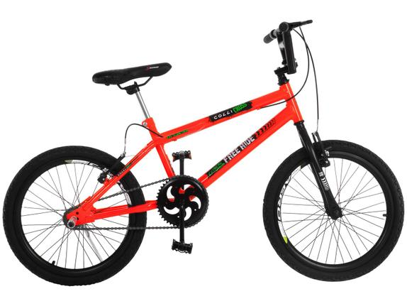 Bicicleta Colli Bike Extreme Aro 20 Rígida 1 Marcha - Laranja