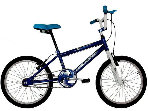 Bicicleta Dalannio Bike Mutante Aro 20 Rígida 1 Marcha - Azul