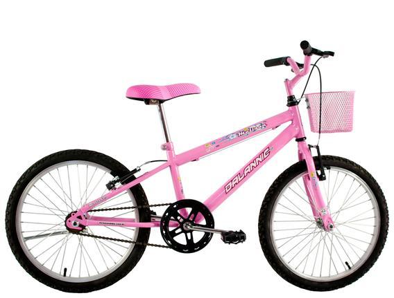 Bicicleta Dalannio Bike Melissa Aro 20 Rígida 1 Marcha - Rosa