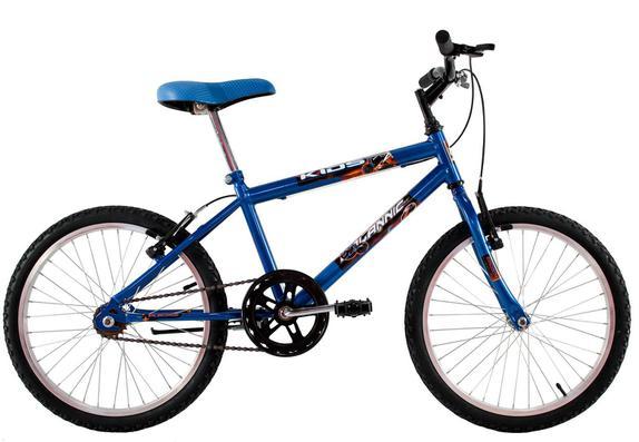 Bicicleta Dalannio Bike Cross Kids Aro 20 Rígida 1 Marcha - Azul
