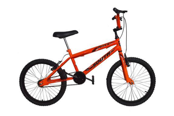 Bicicleta South Bike Cross Aro 20 Rígida 1 Marcha - Laranja
