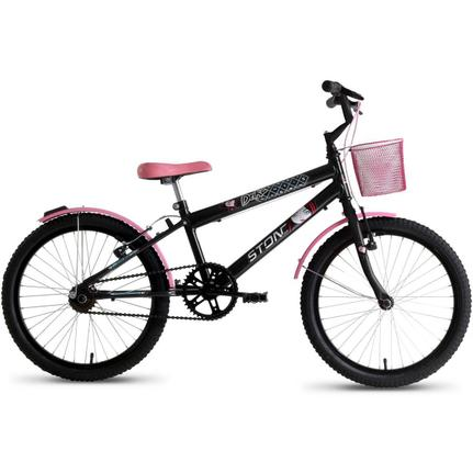 903e237ac Bicicleta Infantil Feminina Drika Aro 20 Stone Bike - Stone bikes -  Bicicleta de Passeio - Magazine Luiza