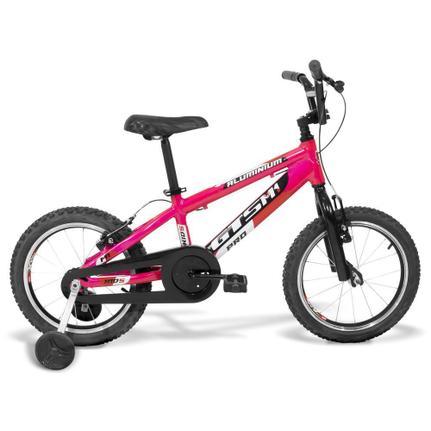 Bicicleta Gts M1 Advanced Kids Aro 16 Rígida 1 Marcha - Rosa