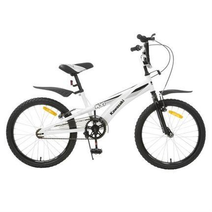 Bicicleta Kawasaki Mx1 Aro 20 Rígida 1 Marcha - Branco