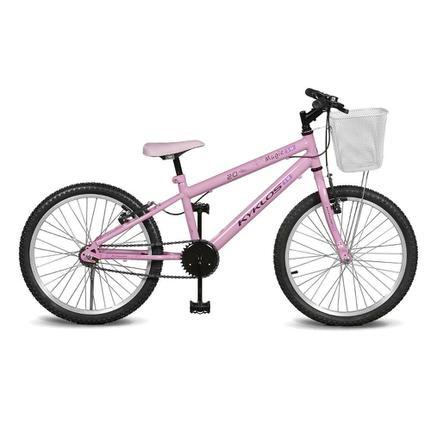 Bicicleta Kyklos Magie Aro 20 Rígida 1 Marcha - Rosa