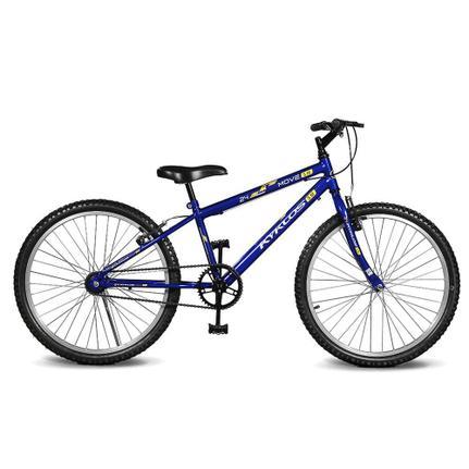 Bicicleta Kyklos Move Aro 24 Rígida 1 Marcha - Azul