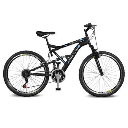 Bicicleta Kyklos Caballu 7.8 Aro 29 Full Suspensão 21 Marchas - Azul/preto