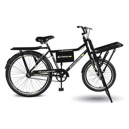 Bicicleta Kyklos Cargo 4.5 Aro 26 Rígida 3 Marchas - Preto