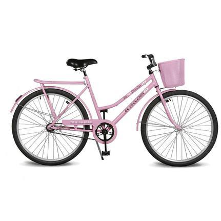 Bicicleta Kyklos Circular 5.5 Aro 26 Rígida 1 Marcha - Rosa