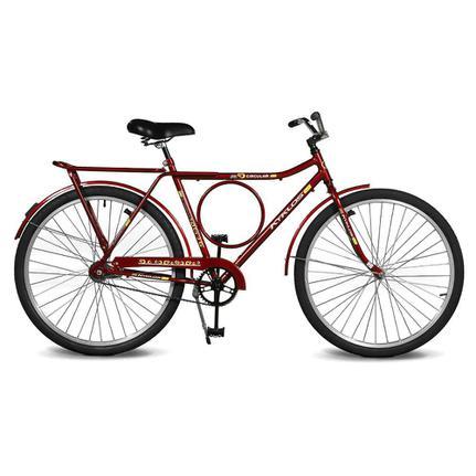 Bicicleta Kyklos Circular 5.9 Aro 26 Rígida 1 Marcha - Vermelho
